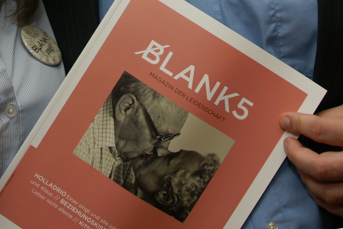 BLANK 5 - Magazin der Leidenschaft
